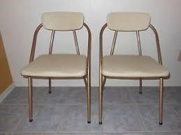 vintage vinyl folding chair craftbnb