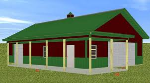 Michigan Amish Built Drive thru Pole Barn The Garage Journal Board