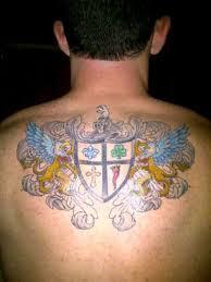 Irish Tattoo On Back Awesome