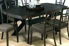 Hidden Leaf Dining Table A Additional Dark Rustic Prairie