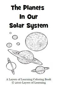 Planets Coloring Book Printable