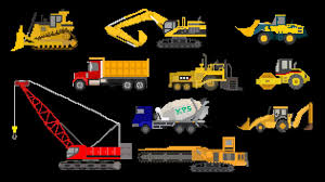 100 Types Of Construction Trucks Vehicles Equipment The Kids Picture Show