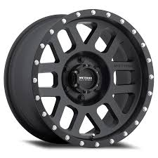 Mesh | Matte Black Truck Wheel