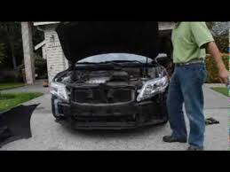 replace headlight on toyota camry le 2010 ep1 no 1