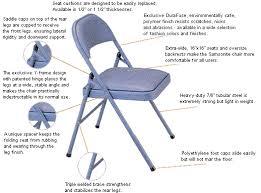 Meco Padded Folding Chairs by Meco Folding Chairs Dansanna International