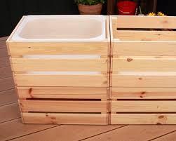 matschküche selber bauen anleitung mit ikea boxen