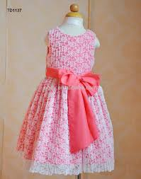 latest design baby girls lace party dress 6years old girls summer