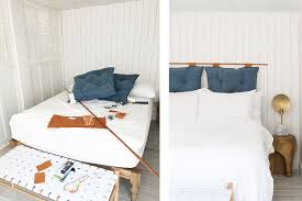 Headboard Designs For Bed by 25 Diy Headboards You Can Make In A Weekend Or Less