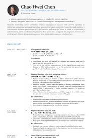 Management Consultant Resume Example