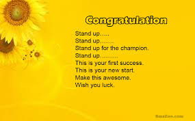 Congratulations For Job Promotion