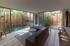100 Modern Homes With Courtyards Japanese House Tucks In Three Courtyards Curbed