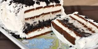 Easy Peasy Oreo Ice Cream Cake
