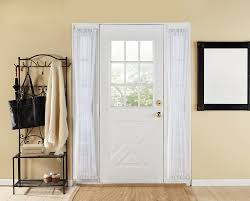 Sidelight Window Curtains Amazon by Blind Window Treatment For French Door Decofurnish Sidelight