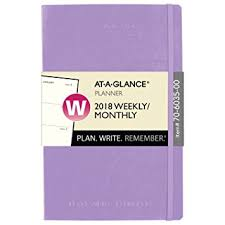 Amazon AT A GLANCE Weekly Monthly Planner Plan Write