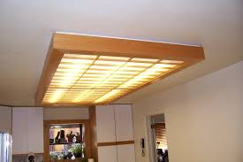 amazing kitchen fluorescent light fixture covers
