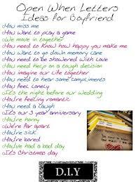 Open When Letter Topics For Boyfriend the best letter