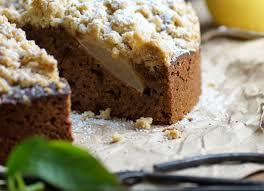 lercker und einfach birnen schokoladenkuchen mit