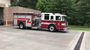 AUGUSTA FIRE DEPARTMENT ENGINE 15 GOING OUT ON A ADMINISTRATIVE RUN ...