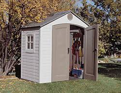 8 X 5 Plastic Storage Shed by Lifetime