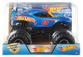 100 Monster Jam Trucks Toys Amazoncom Hot Wheels Truck 1 24 Scale Toy Games