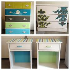 Customized refurbished furniture Matching set for a bedroom