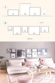 bilderwand im wohnzimmer gestalten ihr möchtet eine