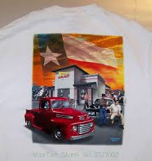 100 In N Out Burger Truck Texas Usa Mike Rider 2011 Fast Food White T