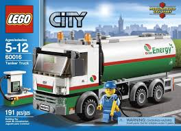 Lego 60016 Tanker Truck (Camión Cisterna) Animated Review - YouTube