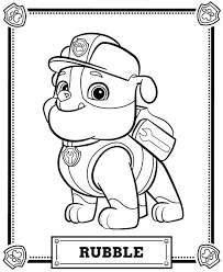 Skye Paw Patrol Coloring Pages Colouring Pictures