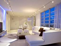 gorgeous living room track lighting all dining room beautiful