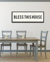 Dining Room Art Farmhouse Sign