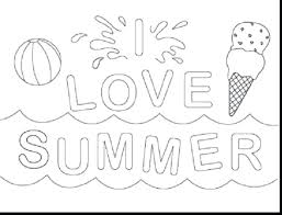 Free Printable Summer Coloring Pages For Adults Color Preschool Pictures Toddlers Full Size