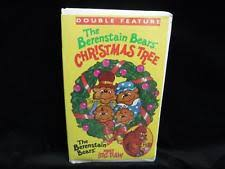 The Berenstain Bears Christmas Tree Dvd by Berenstain Bears Christmas Tree Vhs Ebay