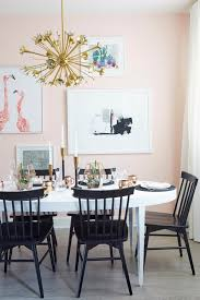 Lacquering A Dining Table Emily Henderson Pink Room Girly Gold