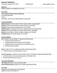 Sample Nursing Resume New Graduate Nurse And Job Grad Practitioner