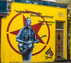 Joe Strummer Mural Nyc Address by 100 Joe Strummer Mural East Village A New York Travel Guide