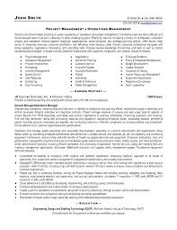 Sample Resume Project Coordinator Manager