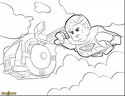 Extraordinary Lego Superman Coloring Pages With Movie Page And Games