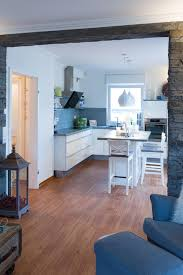 steinwand modern küche sonstige malermeister