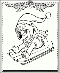 Paw Patrol Coloring Sheets Download Image