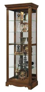 chocolate cherry curio cabinet by pulaski furniture curio