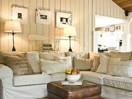 Country Cottage Style Living Rooms On