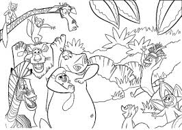 Jungle Coloring Pages Images Of Photo Albums Printable