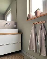 badezimmer bad kleinesbad grün grünewand wandf