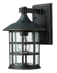 hinkley 1804bk traditional one light wall mount from freeport