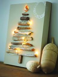 Driftwood String Light Christmas Tree Source
