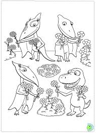 Animal Train Colouring Pages Dinosaur Free Coloring On Art