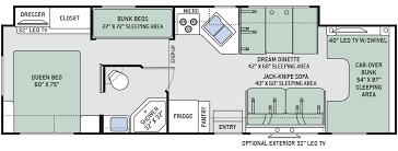 C Floor Plans by Motorhome Floor Plans Class C Home Decorating Interior Design