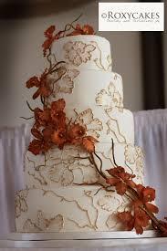 Fall Wedding Cakes Simple Roxy