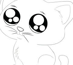 Kitty Cat Coloring Pages Page Color Book Football Plus For Kids Animals